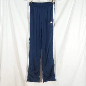 Boys XL Adidas Navy Blue Athletic Track Pants